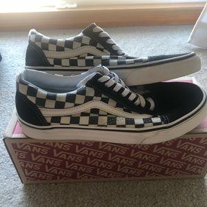 Vans Old Skool Checkered/Suede Style UNISEX